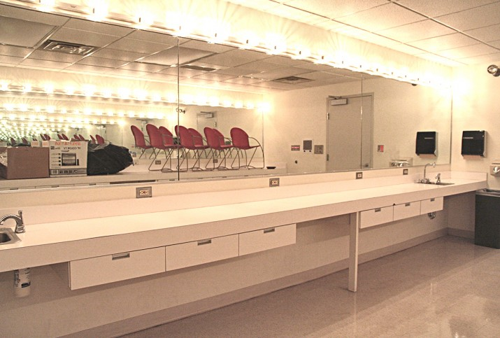 The Makeup Room – used for teaching and for production.