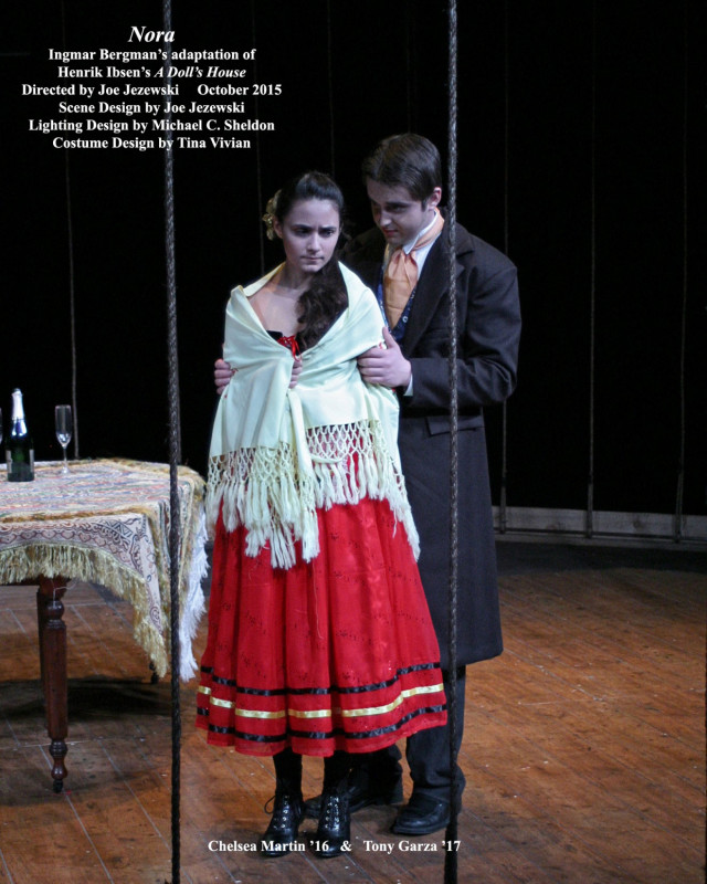 miss julie and a dolls house by henrik ibsen essay Henrik ibsen's a doll's house and august strindberg's miss  julie in the late nineteenth century, playwrights henrik ibsen and august.