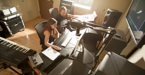 Record your own music, podcast, radio show or anything you can imagine in our soundproof recording studio.