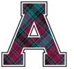 Alma plaid logo