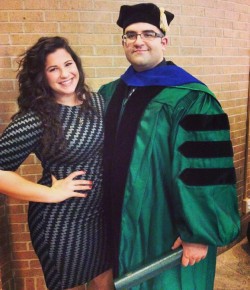 My sister and I. UNT Graduation 2015.