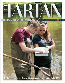 Cover of the inaugural 'Tartan' magazine