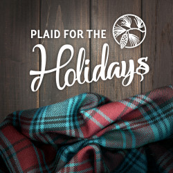 'Plaid for the Holidays' album cover