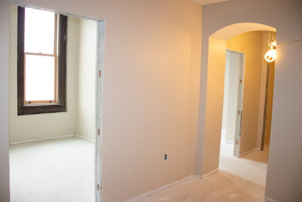 Drywall and painting on the second floor