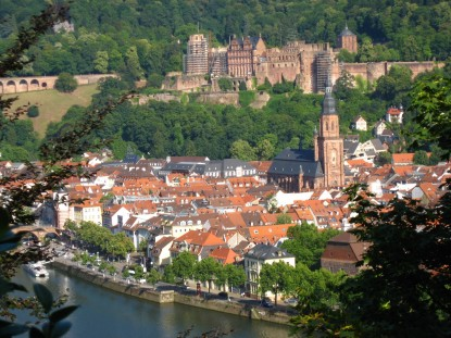 German Majors can study at the University of Heidelberg for one or two semesters.