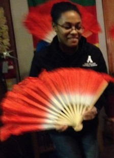 Chinese Club celebrated the Year of the Goat on February 18, 2015 with making the dumplings and a fan dance!