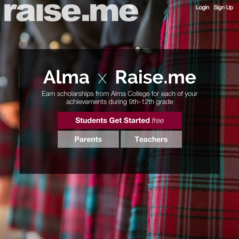 Earn scholarships for your high school achievements. Join Raise.me and see what you've already earned!