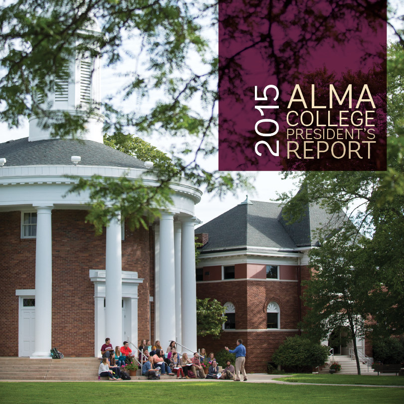 Download the 2015 President's Report
