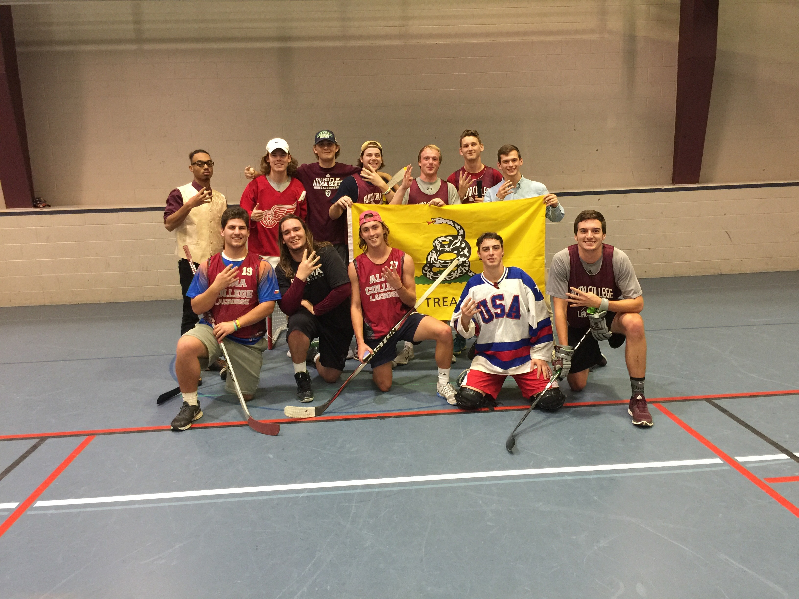 Congrats to the 2016 Floor Hockey Champs!